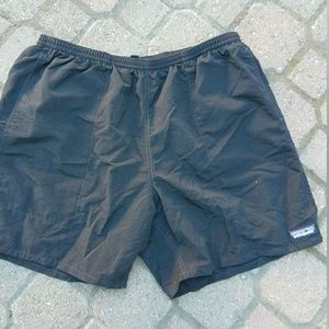 patagonia lined running shorts mens black xl